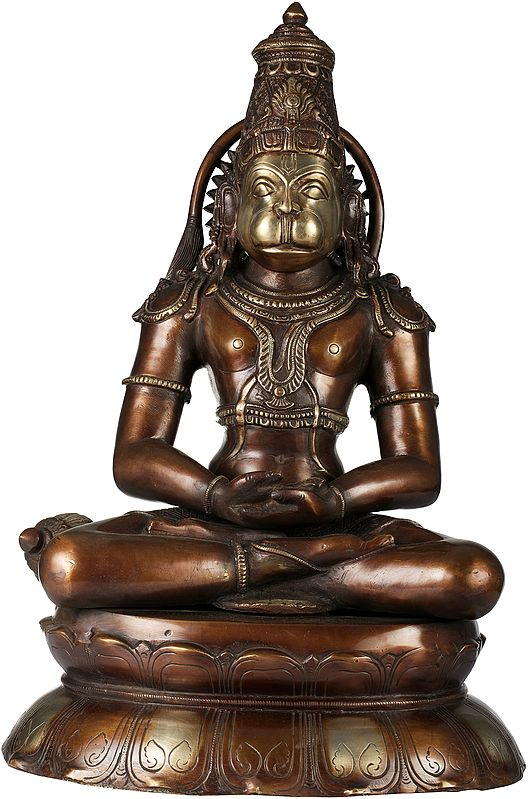 Lord Hanuman in Dhyana