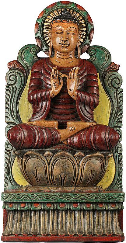 Buddha in Dharmachakra Mudra - Tibetan Buddhist