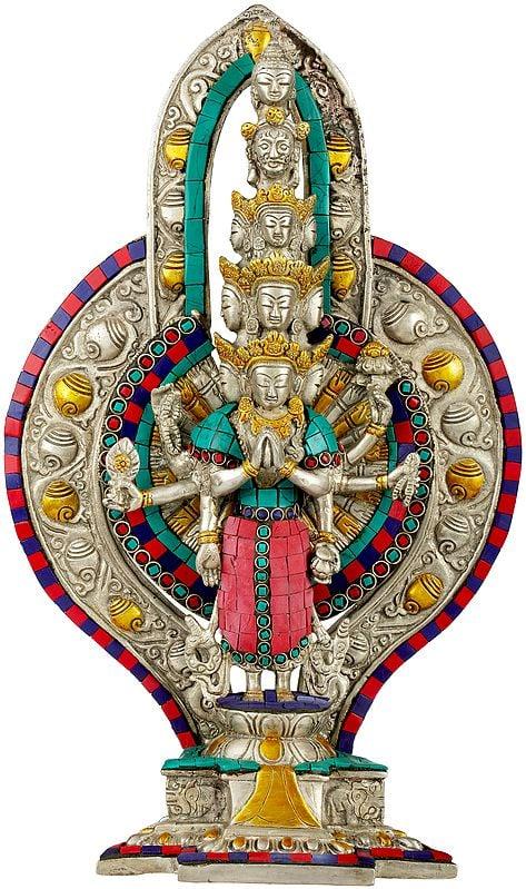 Tibetan Buddhist Deity Thousand Armed Avalokiteshvara