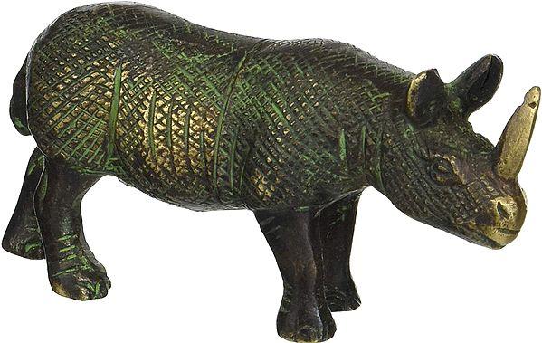 Rhinosaur Statue (Showpiece)