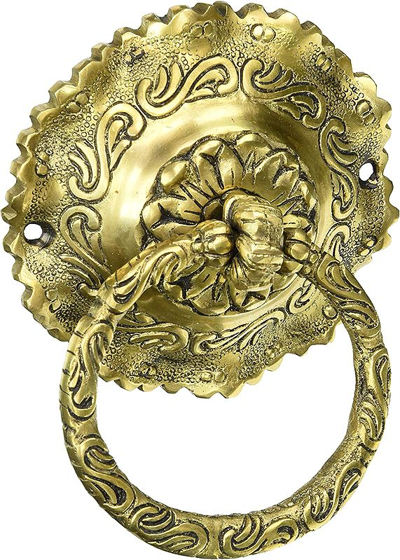 Floral Door Knocker