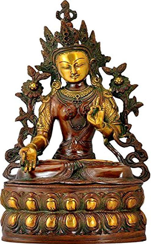 Tibetan Buddhist Goddess White Tara - The Goddess Who Removes All Fears