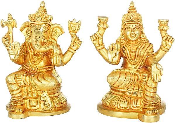 Lakshmi Ganesha Pair