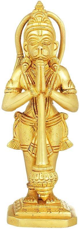 Hanuman in Namaste Mudra