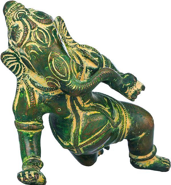 Baby Ganesha with Modak