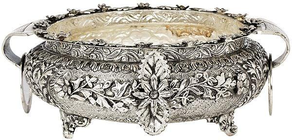 Superfine Engraved Urli Bowl