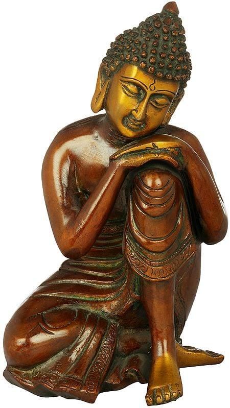 Tibetan Buddhist Deity Thinking Buddha