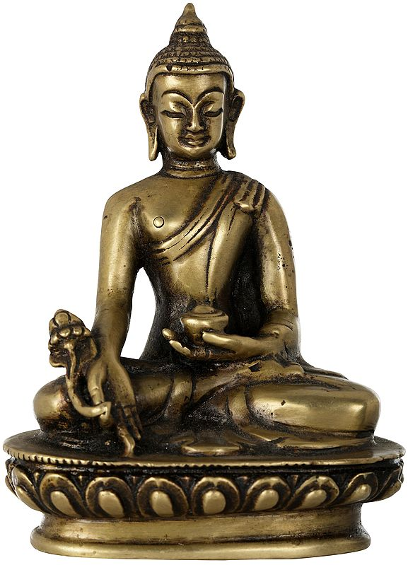 Tibetan Buddhist Medicine Buddha - Made in Nepal