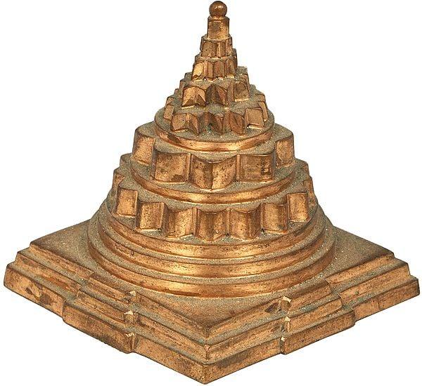 Bronze Shri Yantra (Meru)