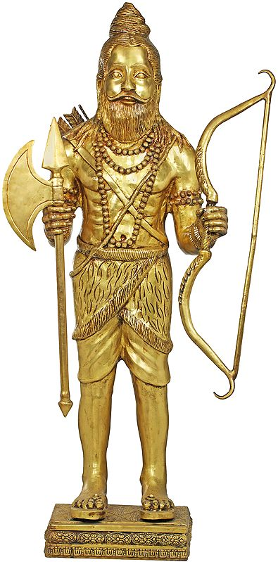 Large Size Parashurama - The Sixth Avatar of Vishnu