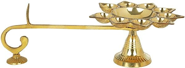 Multi Wick Aarti Lamp
