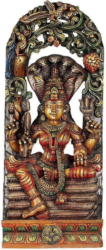 South Indian Goddess Mariamman - Large Size