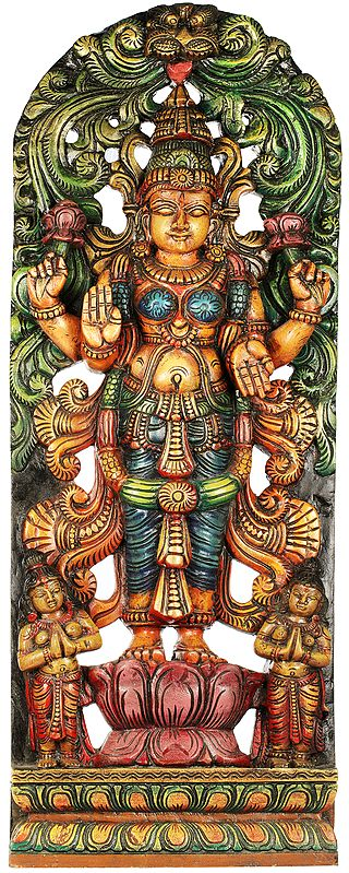 Large Size Standing Goddess Lakshmi