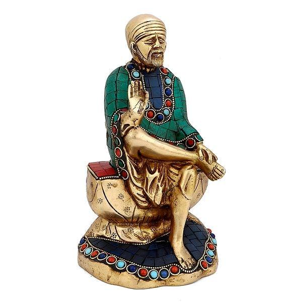 Shirdi Sai Baba with Inlay