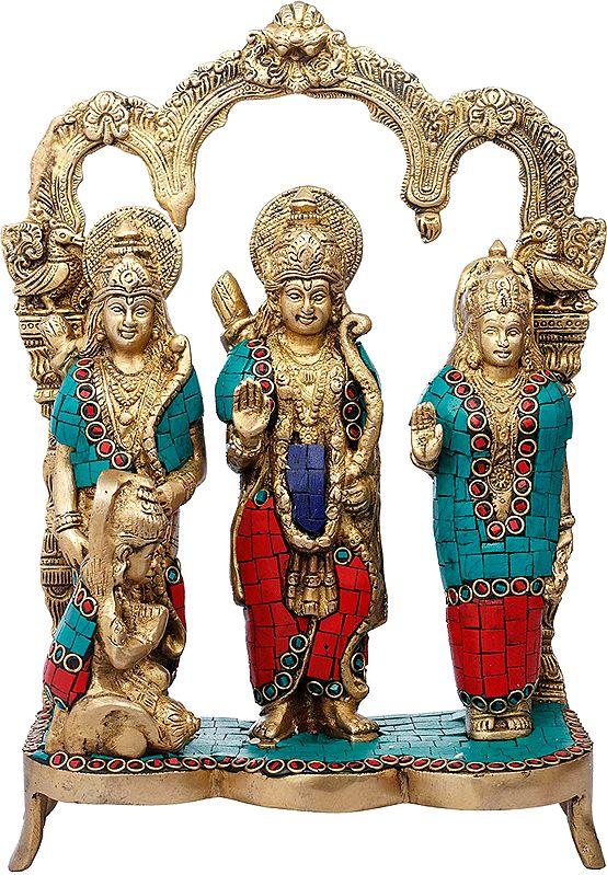 Lord Rama, Lakshman and Goddess Sita (Ram Darbaar)