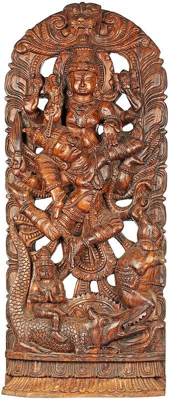 Gajendra-Moksha: Redemption of the Elephant King