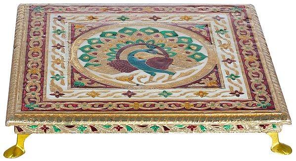 Decorated Ritual Chowki