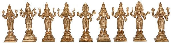 Nava Kannigal - The Nine South Indian River Goddesses