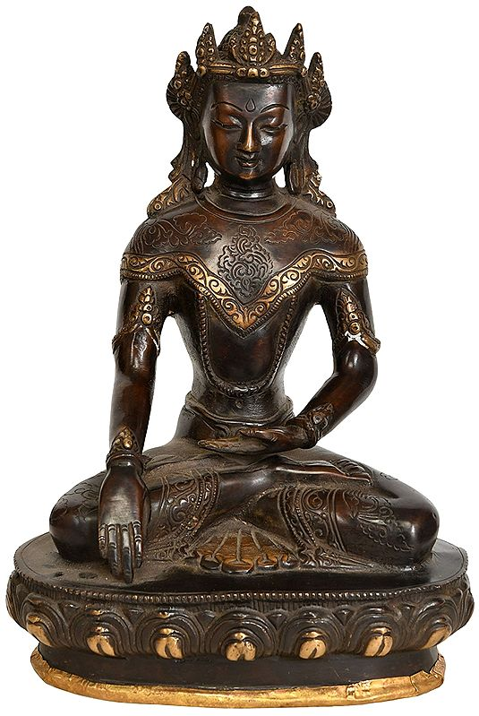 Crown Buddha - Tibetan Buddhist Deity