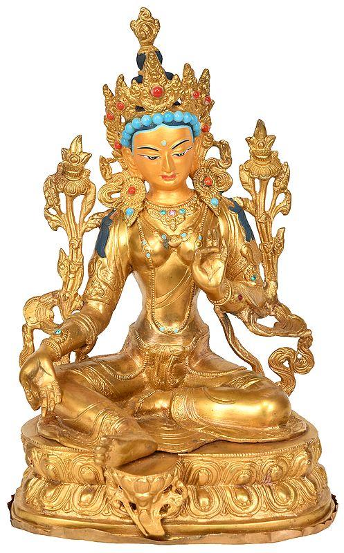 Goddess Green Tara - Tibetan Buddhist