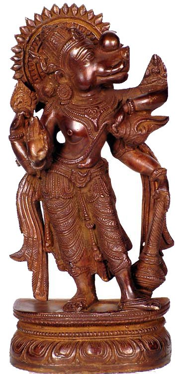 Varaha - Third of the 10 incarnations (Avatars) of Lord Vishnu