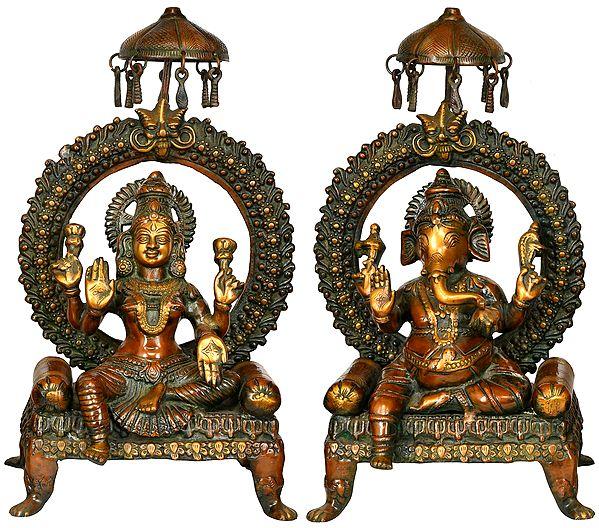 Royal Lakshmi Ganesha