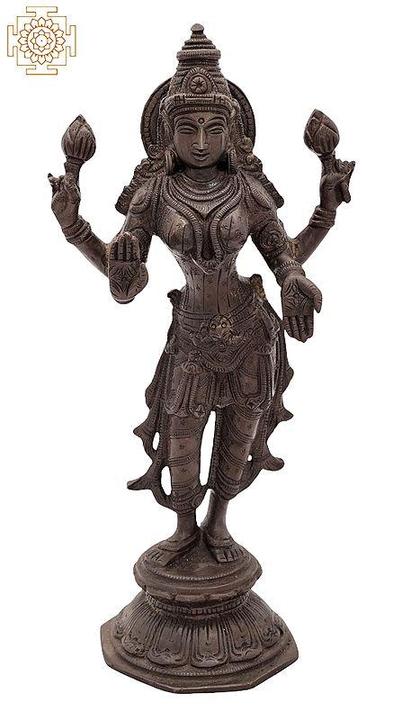 Standing Goddess Lakshmi