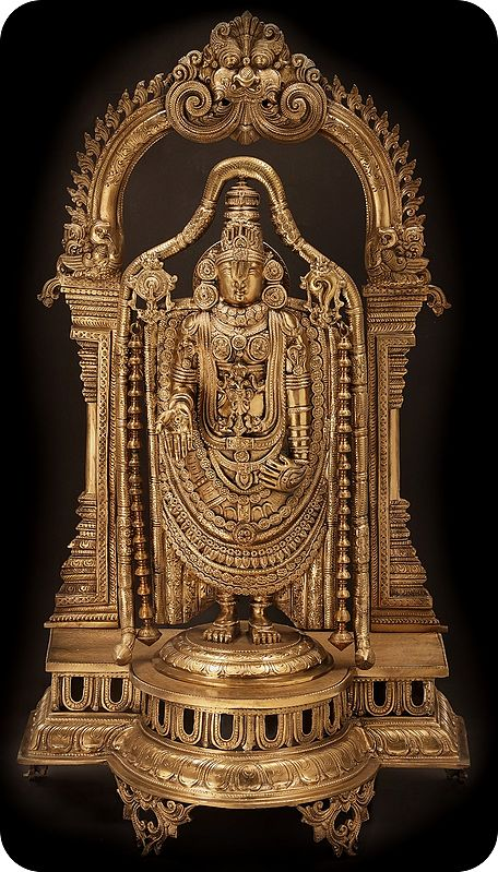 The Heavily Garlanded Lord Venkateshvara