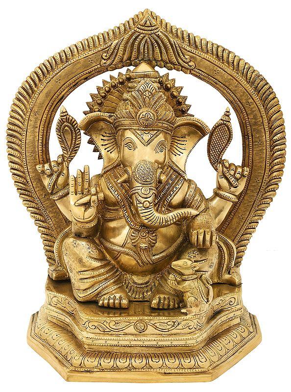 The Royal Grandeur of King Ganesha