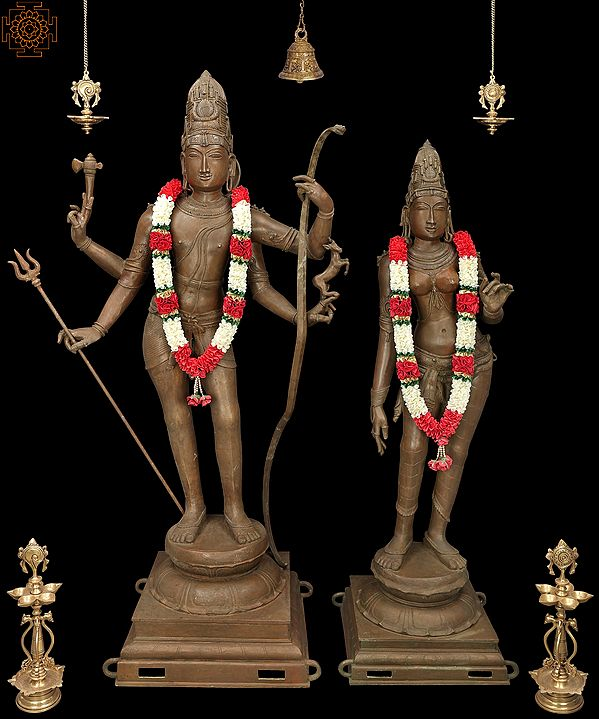 Our Parents Bhagawan Shiva and Devi Parvati ( Super Large Size)