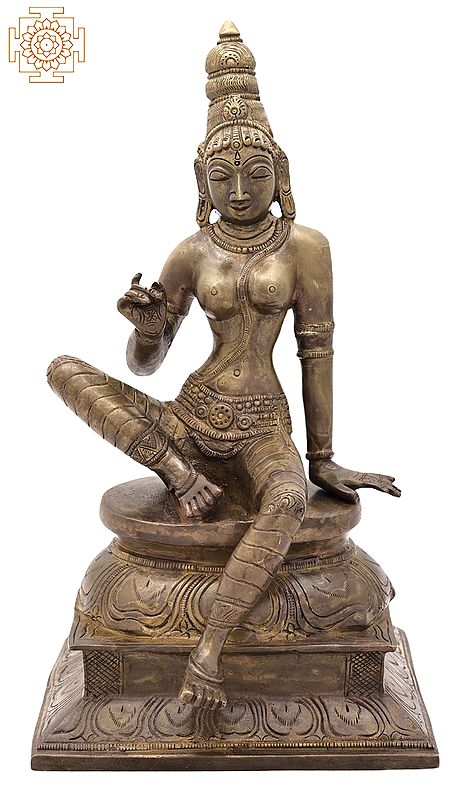 Seated Goddess Uma (Parvati)