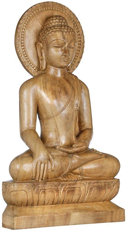 Shakyamuni Buddha Invoking the Earth Goddess to be His Witness to the Attainment of Supreme Enlightenment (Tibetan Buddhist)