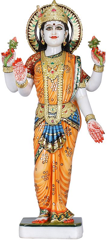 Four Armed Standing Lakshmi
