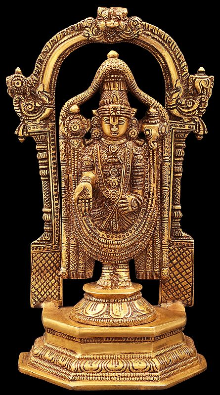Lord Venkateshwara as Balaji at Tirupati