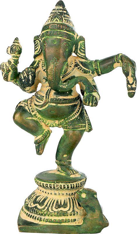 Small Dancing Ganesha
