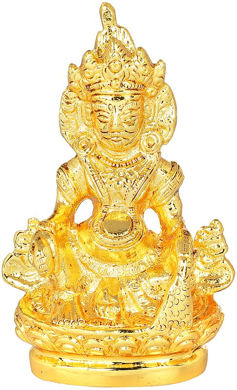 Auspicious Small Kubera in Gift Box