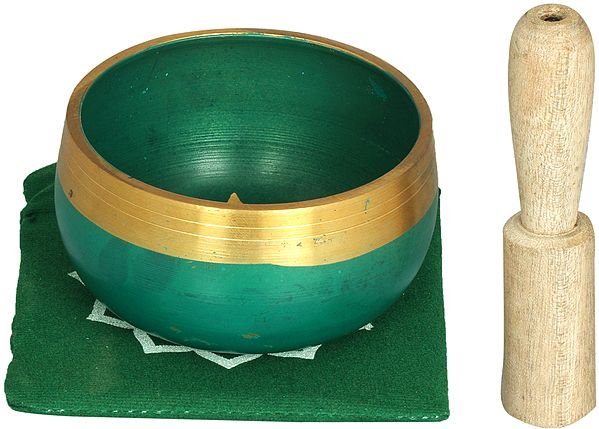 Heart Chakra Singing Bowl - Tibetan Buddhist