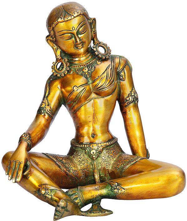 Tibetan Buddhist Goddess Green Tara