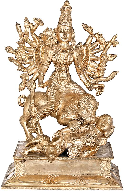The Splendour Of Devi Mahishasuramardini
