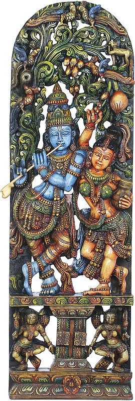 The Amorousness Of Radha-Krishna