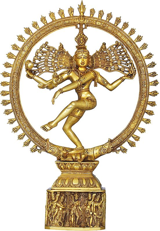 Anandatandava - The Dance of Absolute Bliss (Nataraja)