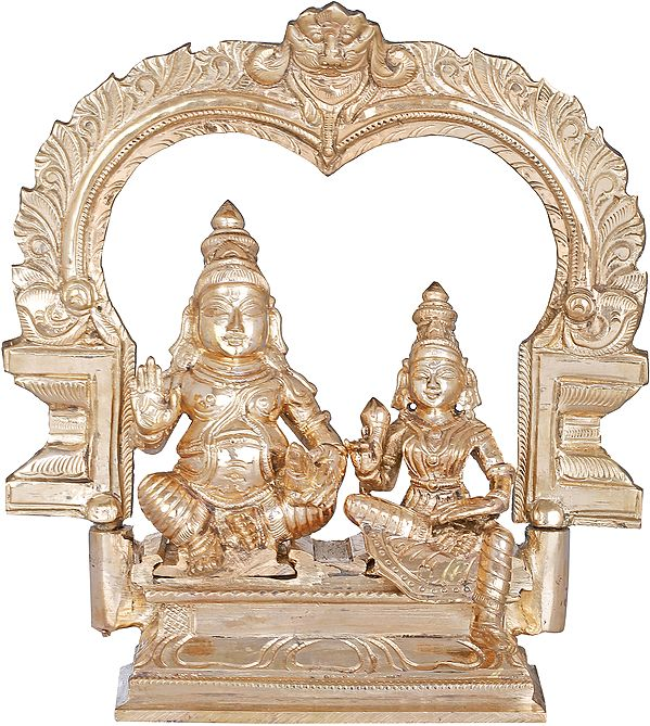 The God and Goddess of Wealth - Lakshmi Kubera