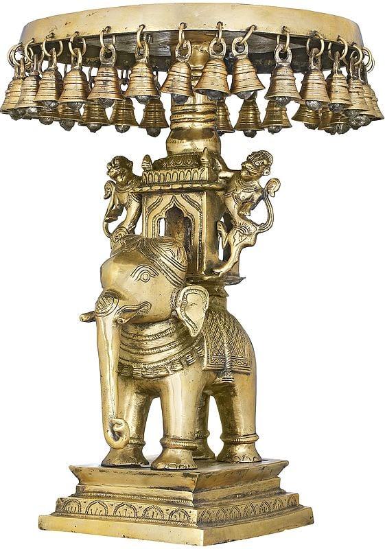 The Royal Elephant Palki Chowki With Bells