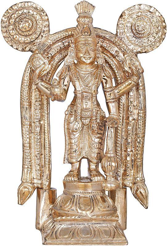 Vishnu as Guruvayur (Kerala's Krishna)