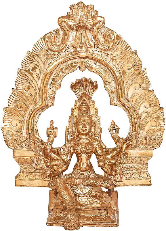 Flaming Aureole Devi Mariamman