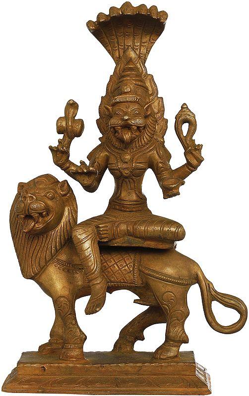 The Fearless and Powerful Goddess Pratyangira