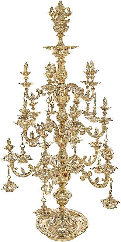 Effulgent Lord Ganesha Lamp