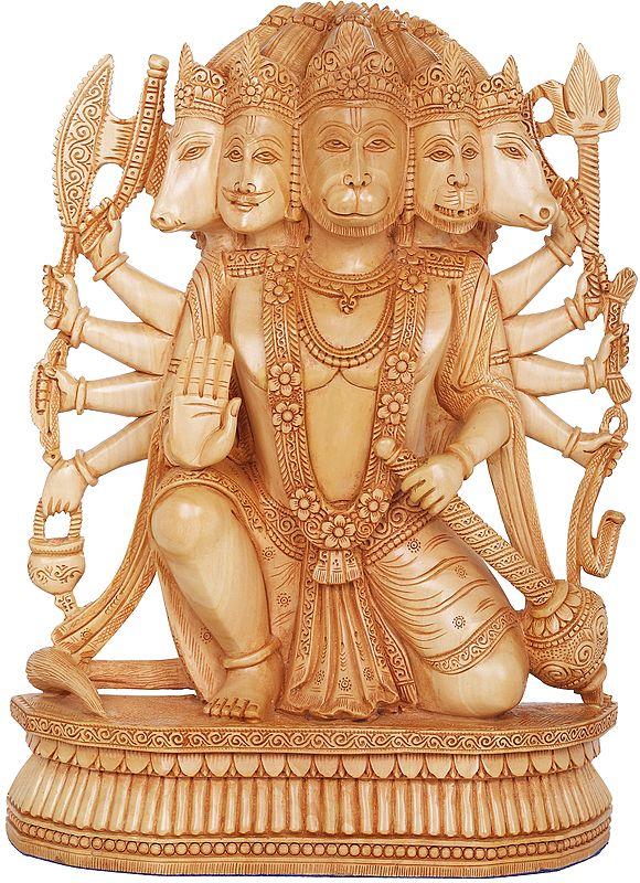 Five Headed Hanuman as Eleventh Rudra