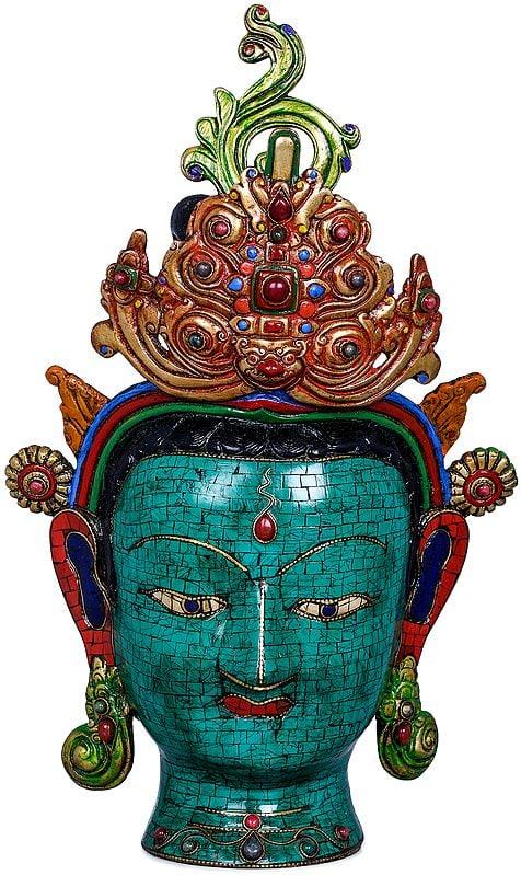 Tibetan Buddhist Goddess Tara Head