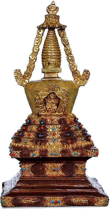 Tibetan Buddhist Stupa - Chorten (Made in Nepal)